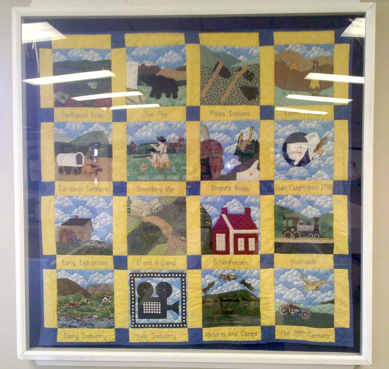 History Time Line Quilt : quilt display cases - Adamdwight.com